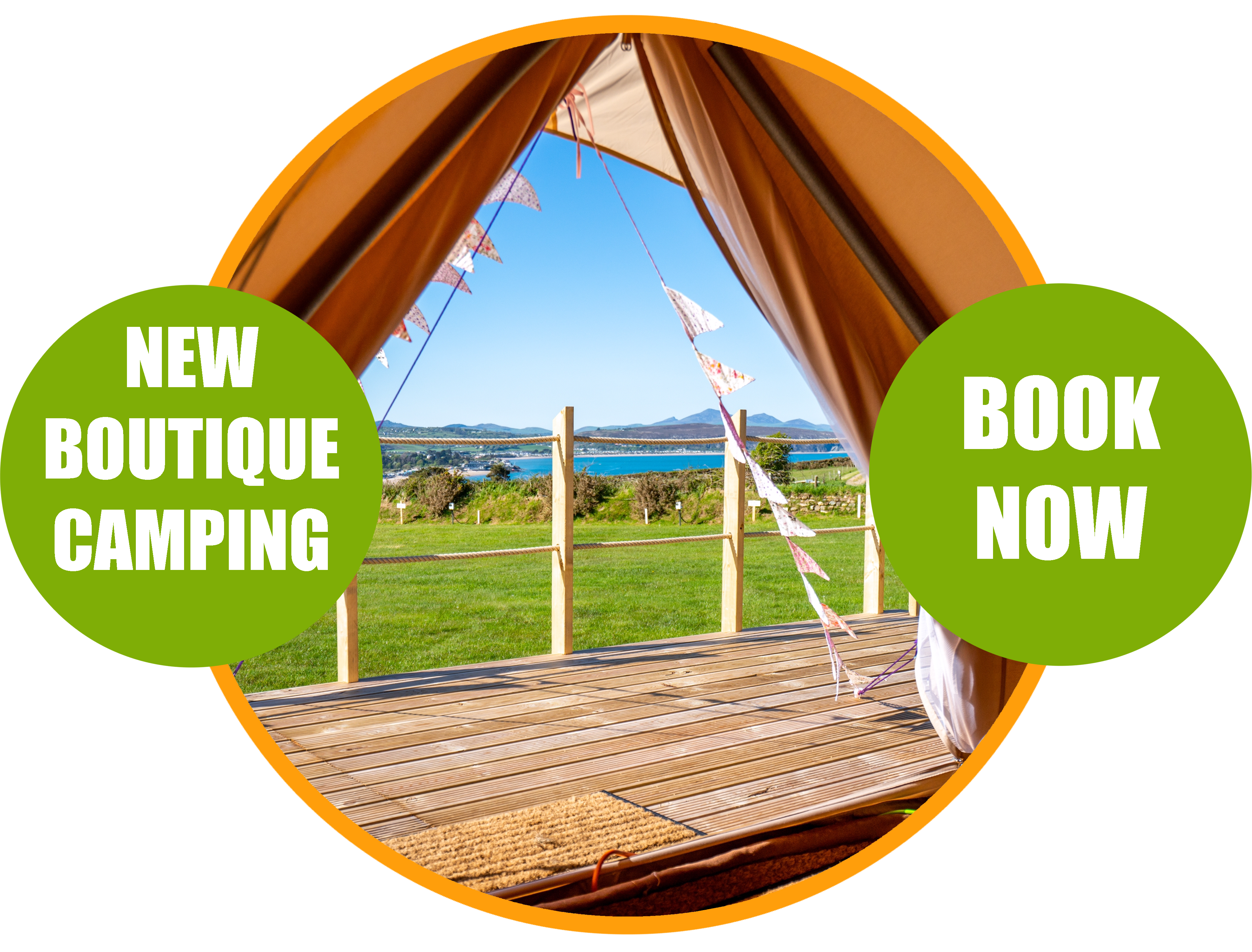 NEW BOUTIQUE CAMPING COMING IN MAY